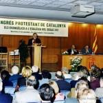 Imatge del Primer Congrés Protestant de Catalunya, 1997