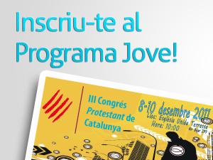 Programa Jove 3r Congrés Protestant de Catalunya